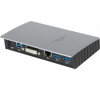 Replicateur de port - 2 x USB 3.0, DVI, Ethernet