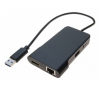 Réplicateur de port USB 3.0 - 1 x USB 3.0, HDMI, RJ45 Gigabit