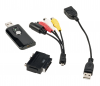 Adaptateur USB 2.0 type A (M) vers Composite / S-Video / Audio (montage video)