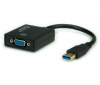 Adaptateur video externe USB 3.0 Type A (M) vers VGA (F), 1080P