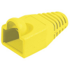 Manchon diametre 6.5 mm max - jaune, pack de 10