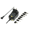 Chargeur HQ - 1.0 A, 3-12 V, 6 embouts