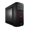 CORSAIR CARBIDE SPEC-02 - MOYENTOUR ATX, SANS ALIM. (LED ROUGE)