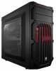 CORSAIR CARBIDE SPEC-03 - MOYENTOUR ATX, SANS ALIM. (LED ROUGE)