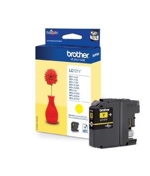 BROTHER LC121Y - Cartouche d\'encre jaune