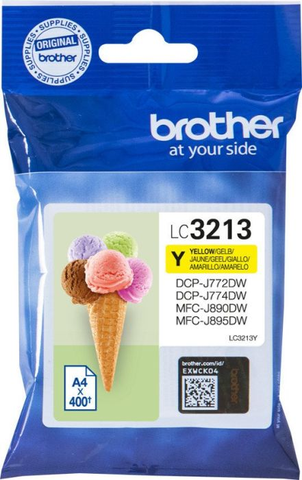 BROTHER LC3213Y - Cartouche d\'encre jaune