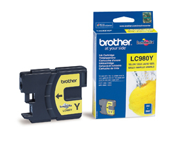 BROTHER LC980Y - Cartouche d\'encre jaune
