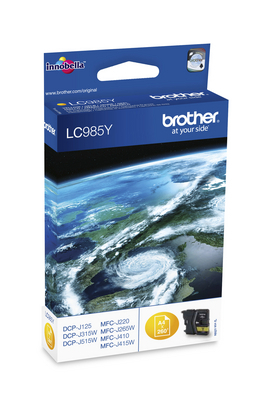 BROTHER LC985Y - Cartouche d\'encre jaune