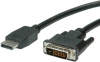 Cordon video DisplayPort 1.1 (M) vers DVI-D 1.1 (M) - 1.8 m