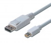Cordon video DisplayPort 1.1 (M) vers Mini DisplayPort 1.1 (M) - 1.8 m