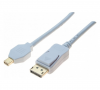 Câble video DisplayPort 1.2 (M) vers Mini DisplayPort 1.2 (M) - 1.8 m