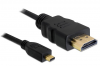 Cordon audio-video HDMI 1.4 (M) vers MICRO HDMI 1.4 (M) - 2 m