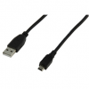Cordon USB 2.0 Type A (M) vers Mini-USB 2.0 Type B (M) - 3 m