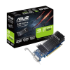 Carte graphique ASUS GeForce GT 1030 - PCI-E, 2 Go GDDR5, sans ventilateur, low profile, GT1030-SL-2G-BRK