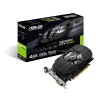Carte graphique ASUS GeForce GTX 1050 Ti - PCI-E, 4 Go GDDR5, ventilateur, DVI-D, DP 1.4, HDMI 2.0, PH-GTX1050TI-4G