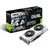 Carte graphique ASUS Geforce GTX 1060 - PCI-E, 6 Go GDDR5, ventilateur, DUAL-GTX1060-6G