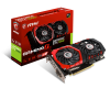 Carte graphique MSI GeForce GTX 1050 - PCI-E, 2 Go GDDR5, ventilateur, GTX1050 GAMING X 2G