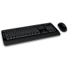 Pack clavier et souris MICROSOFT WIRELESS DESKTOP 3050 BLUE TRACK