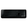 Clavier MICROSOFT WIRELESS KEYBOARD 850 noir