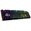 Clavier MSI VIGOR GK80 CR GAMING KEYBOARD (CHERRY MX RED)