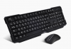Pack clavier et souris ADVANCE STARTER WIRELESS - USB, noir