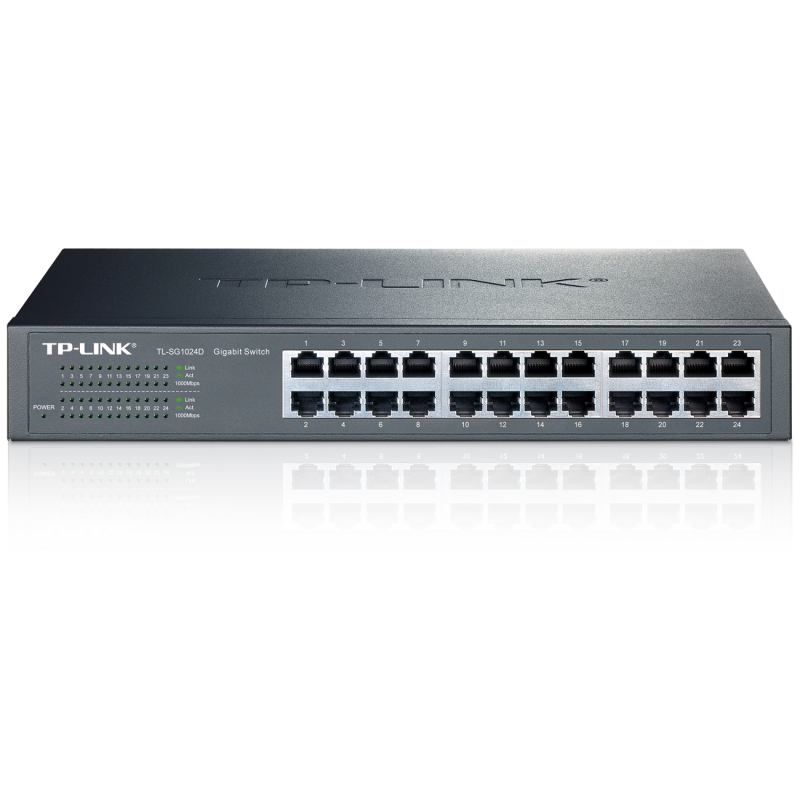 TP-LINK TL-SG1024D - Switch 24 x 1 Gigabit