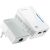 TP-LINK TL-WPA4220 KIT - Courant porteur 2 adaptateurs CPL 600 Mbps Wifi N