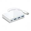 Hub USB 3.0 TP-LINK UC430 - Type C (M) vers 3 ports Type A (F) + 1 port recharge Type C (F)