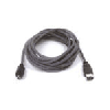 Cordon FireWire 400 (IEEE 1394A) type 4pins (M) vers 4pins (M) - 1.8 m