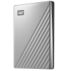 Disque dur externe WESTERN DIGITAL 2.5 My Passport Ultra - 2 To, USB 3.0 Type-A / Type-C, argent