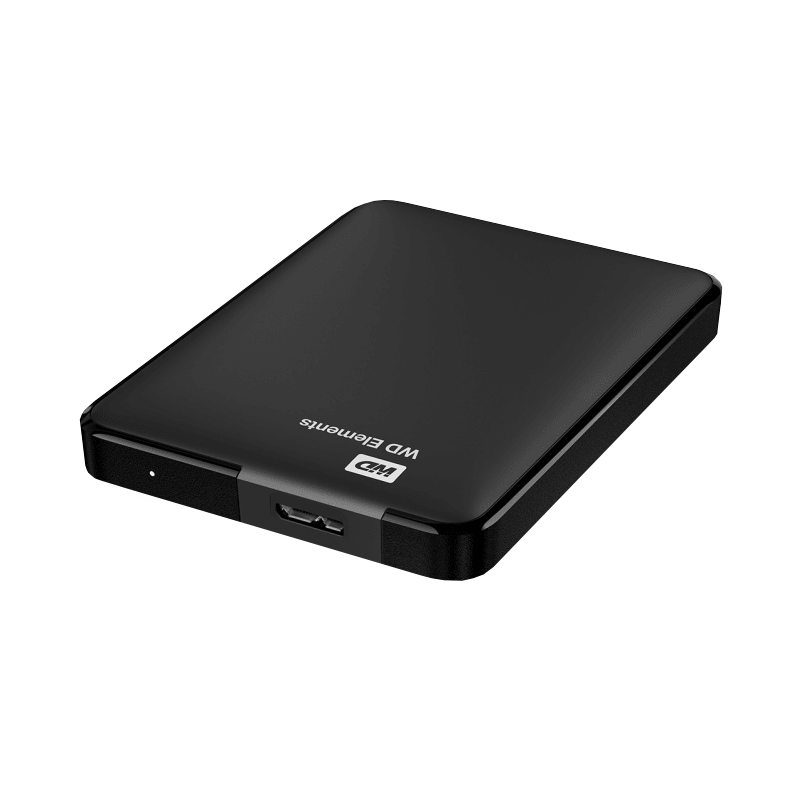 Disque dur WESTERN DIGITAL 2.5 externe Elements Portable USB 3.0 - 1 To, 8 Mo