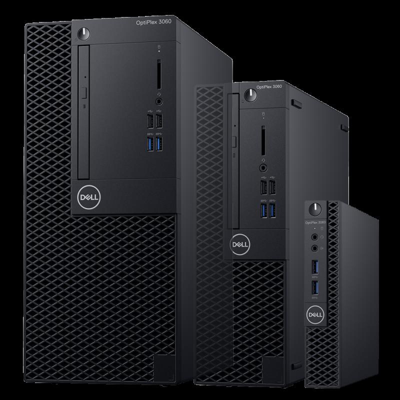 Pc De Bureau Dell Optiplex 3060 Mt Intel Core I3 8100 4 Go 500