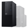 PC de bureau DELL Optiplex 3060 MT - Intel Core i3-8100, 4 Go, 128 Go SSD, DVDRW, Windows 10 Pro, Garantie 3 ans