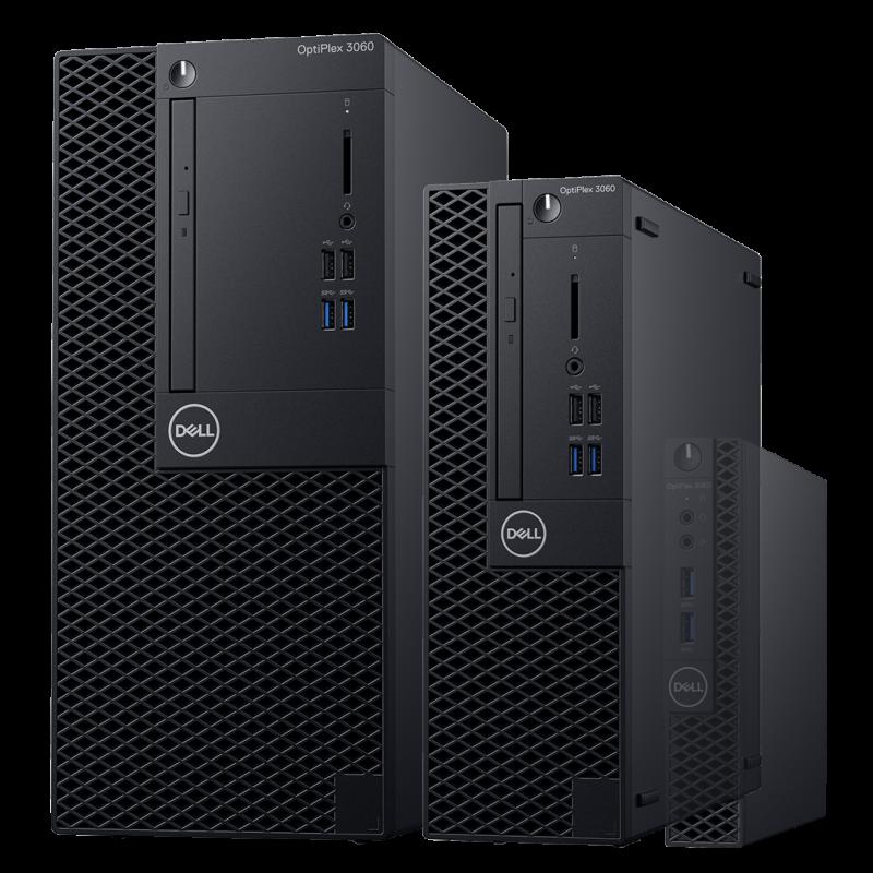 Pc De Bureau Dell Optiplex 3060 Sff Intel Core I3 8100 4 Go 128