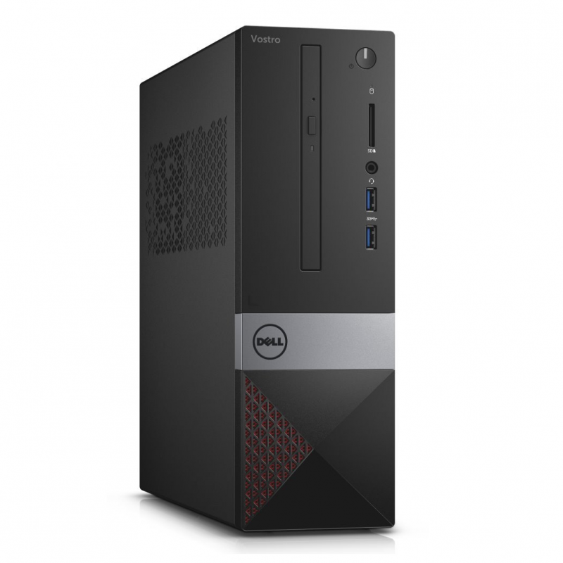 PC de bureau DELL Vostro 3268 SFF - Intel Core i5-7400, 4 Go, 500 Go, DVDRW, Windows 10 Pro, Garantie 1 an