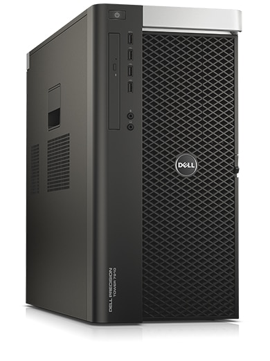PC de bureau DELL Precision Tour 7910 - Intel Xeon E5-2630, 32 Go, 512 Go SSD, 1 To, DVDRW, Windows 10 Pro, Garantie 3 ans