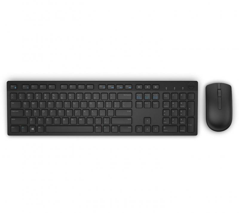 pack clavier et souris dell km636 sans fil noir sur. Black Bedroom Furniture Sets. Home Design Ideas