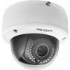 Caméra IP dôme varifocal HIKVISION - interne, lightfighter, 6 MP, WDR, IR 30m, IK10, PoE,Alarm/Audio IO