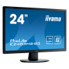 Moniteur IIYAMA ProLite E2483HS-B3 - 23.6'' TN LED 1920x1080, 2 x 2W, VGA, HDMI, DisplayPort