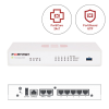 FORTINET FortiGate Secure SD-WAN FG-50E + FortiCare 24x7 & FortiGuard UTM - 1 an