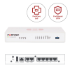FORTINET FortiGate Secure SD-WAN FG-50E + FortiCare 8x5 & FortiGuard UTM - 1 an
