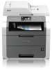 Imprimante BROTHER DCP-9020CDW, MULTI. - Laser couleur A4, USB, Wifi, Ethernet