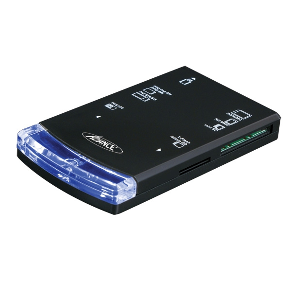 Lecteur de carte mémoire externe ADVANCE CR-C602 - USB 2.0
