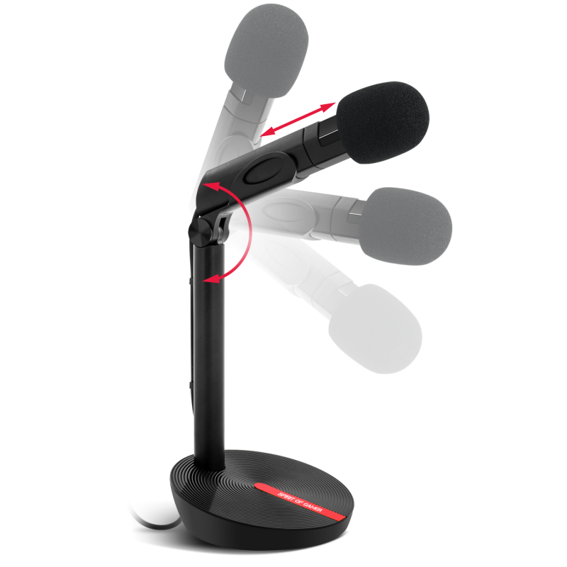 EKO GAMING AND LIVE STREAMING MICROPHONE - microphone USB