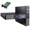 EATON 9PX 2200 RT2U Netpack Rack 2U / Tour - Onduleur 2200 VA On-line, 10 prises IEC, RS232, USB, carte réseau SNMP incluse
