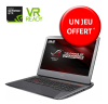 PC Portable ASUS ROG G752VS-BA363T - Intel i7-7700HQ, 16 Go, SSD 256 Go, 1 To, GTX1070, DVDRW, 17.3'' FHD, Windows 10