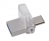 Clé USB KINGSTON DATATRAVELER MICRODUO USB 3.0 - 64 Go, Type A/C