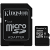 Carte mémoire KINGSTON Canvas Select microSDXC - 32 Go, classe 10, adaptateur SD fourni