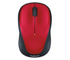 Souris LOGITECH WIRELESS MOUSE M235 - noir / rouge
