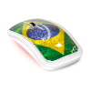 Souris ADVANCE WIRELESS TRENDY BRAZIL MOUSE - USB, multicolor